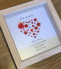 40th ruby wedding anniversary gift by lovetwilightsparkles on etsy home decor wedding anniversary gifts ruby wedding anniversary gifts ruby wedding