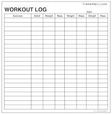 Fitness Schedule Template Vector Free Download Group Format