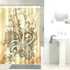steampunk shower curtain steampunk shower curtain octopus steampunk ship shower curtain waterproof bathroom decor steampunk steampunk shower