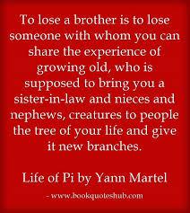 Losing Brother Quote Book Quotes Hub Impressive Quotes Hub