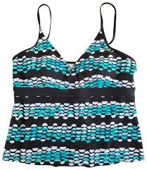 Jantzen Swim Size Chart Jantzen Brown Top Separates Turquoise Tankini Size 12 L 51 Off Retail