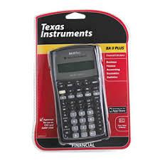 Financial Calculator Ti Ba Ii Plus Financial Calculator Calculator Tibaii Plus