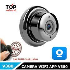 BIGSALE] Camera giám sát V380 treo tường cao cấp nhỏ gọn Hàng xịn
