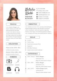 Download Free Modern Resume Templates For Word Free Best Fashion Resume Cv Template In Photoshop Psd