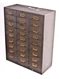 vintage steel furniture. Fine Steel 1940u0027s Vintage Heavy Gauge Steel 27 Drawer Institutional Furniture Cabinet   Save In Vintage Steel Furniture I