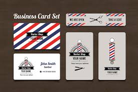 barbershop business cards barber shop business card set business card templates creative