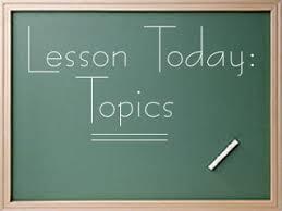 mr mclaughlin s class demonstration speech topic selection demonstration speech topic selection