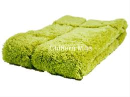 luxury lime green non slip microfibre bath mat