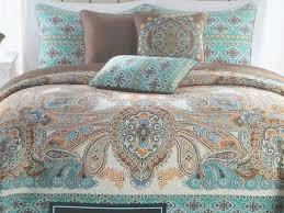 Cynthia Rowley Bedding Brown Blue Paisley | Bedrooms & Bedding ... & Cynthia Rowley Bedding Brown Blue Paisley Adamdwight.com