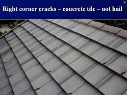 brilliant concrete roof tile manufacturers concrete tiles ing only at bottom right corner internachi