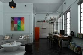 Decorating One Bedroom Apartment Fascinating 48 Distinctly Themed Apartments Under 48 Square Feet With Floor Plans