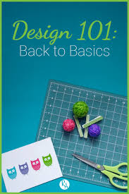 Vanseo Design Design 101 Back To Basics Raye Allison Creations