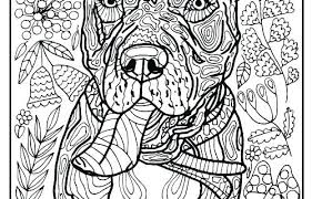 Coloring Pages Of Dogs Iifmalumniorg