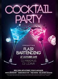 Part Flyer 26 Awesome Cocktail Flyer Designs Creatives Psd Vector Eps Jpg
