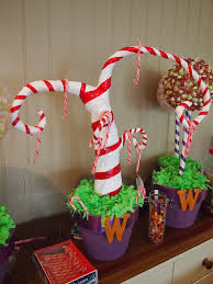 Candy Cane Themed Decorations Candy Cane Tree Ideas Pinterest Candy canes and Xmas 21
