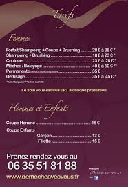 Tarif Coiffeur Highereducationcourses
