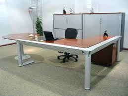 t shaped office desk. t shaped office desk l shape furniture desks and brown high gloss finish wooden top computer .