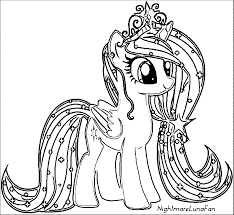 Well-Suited Design My Little Pony Coloring Pages My Little Pony ...