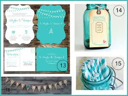 Turquoise Wedding Color Theme