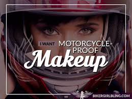diva beauty secrets sweat proof makeup for women motorcycle riders