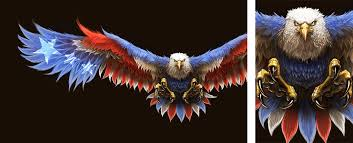 Patriotic Eagle Painting. by BlackHawk45LC on DeviantArt