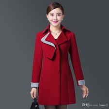 new cashmere winter coats 2017 women fashion hit color long sleeve woolen warm coat female slim outerwear by bmw2 dhgate com