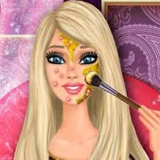 food serving game for s barbie real makeup