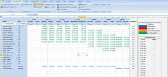 excel for scheduling scheduling spreadsheets army markone co