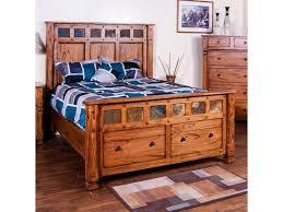 Morris Bedroom Furniture From Morris Home Furnishings Queen Bed W Storage In Footboard