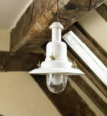 image of country light fixtures white