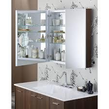 30 X 30 Medicine Cabinet Kohler K 99009 Na Verdera Aluminum Non Handed Medicine Cabinets