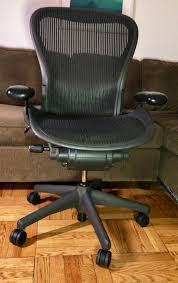 Aeron Office Chair Size Chart Free Delivery Authentic Herman Miller Classic Aeron Chair Size C 500