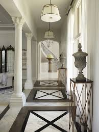 entrance floor tiles design images. hallway floor tile patterns below indoor roman columns toward small tall hall table decorative concrete entrance tiles design images
