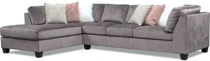 2 piece sectional with chaise art sample home corner and chair nataliya leather pc sofa