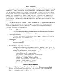 example of a thesis essay resume examples resume examples sample thesis essay give an