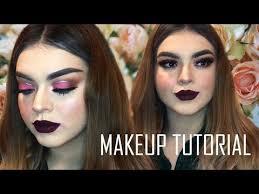 makeup tutorial by shaby morgan tutorial de maquillaje con glitter pink glam makeup look