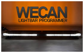 whelen justice series usb input to the ecm from pc or laptop makes programming easy to each of eighteen input wires to the ecm lightbars can be pre programmed customer