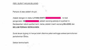We did not find results for: Surat Rasmi Akuan Bujang Surat R