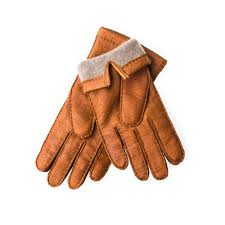 men s cashmere lined peccary leather gloves