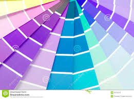 Color Chart Guide Sampler Stock Photo Image Of Guide 34762278