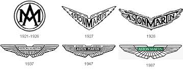 aston martin logo vector. from the aston martin motor club comes this image showing how logo has changed over years vector 0