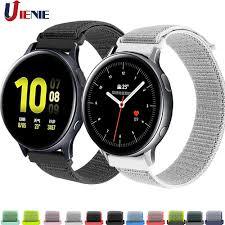 Dây Đeo Sợi Nylon 20mm Cho Đồng Hồ Thông Minh Samsung Galaxy Watch Active 2  40mm 44mm