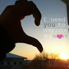 I Need You In My Heart
