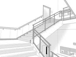 フリー素材漫画用背景素材004階段02商用可 猫はあなたと遊ばない