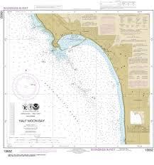 Half Moon Bay Tide Chart 18682 Half Moon Bay Nautical Chart