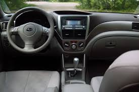 subaru forester 2010 interior. rather than go silly with jog dials and digital control schemes simplicity wins the day subaruu0027s done such a good job inside that forester just works subaru 2010 interior