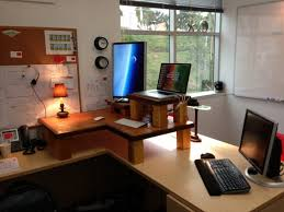 unique office decor.  Office Incredible Wonderful Home Office Decor Furnished With Unique Desk  And Regard To E