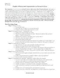 Sample Argumentative Essay Outline Template Pdf Persuasive