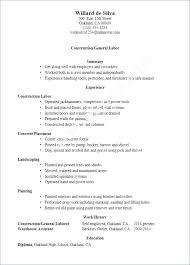 Construction Laborer Resume Inspirational Data Warehouse Elegant Cool Construction Resume Skills