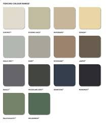 44 Described Colorbond Metallic Colour Chart